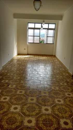 Apartamento, código 10987 em São Vicente, bairro Centro