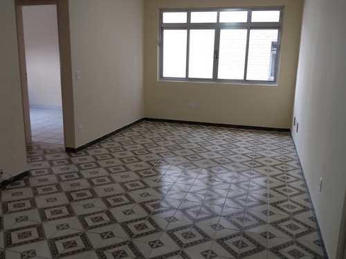 Apartamento, código 11048 em São Vicente, bairro Itararé