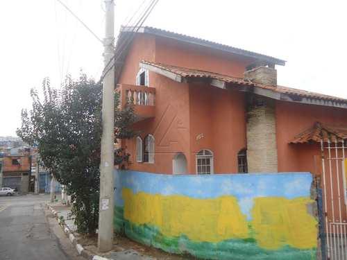 Sobrado, código 2807 em Taboão da Serra, bairro Parque Marabá