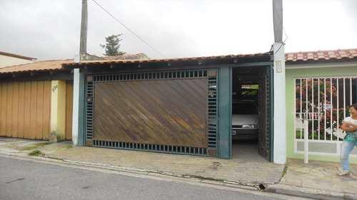 Sobrado, código 392 em Mogi das Cruzes, bairro Vila Santana