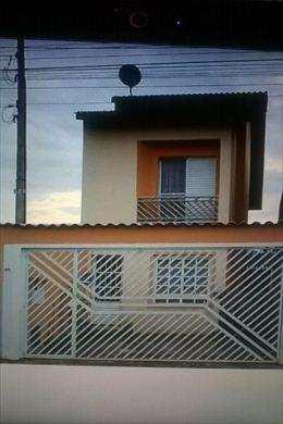 Sobrado, código 387 em Mogi das Cruzes, bairro Jardim Rubi