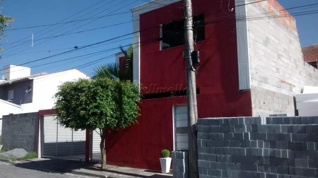Sobrado em Mogi das Cruzes, no bairro Chácara Jafet