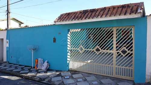 Casa, código 591 em Mogi das Cruzes, bairro Conjunto Habitacional São Sebastião
