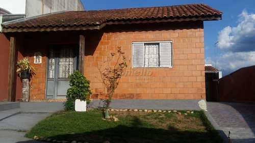 Casa, código 605 em Mogi das Cruzes, bairro Vila São Paulo