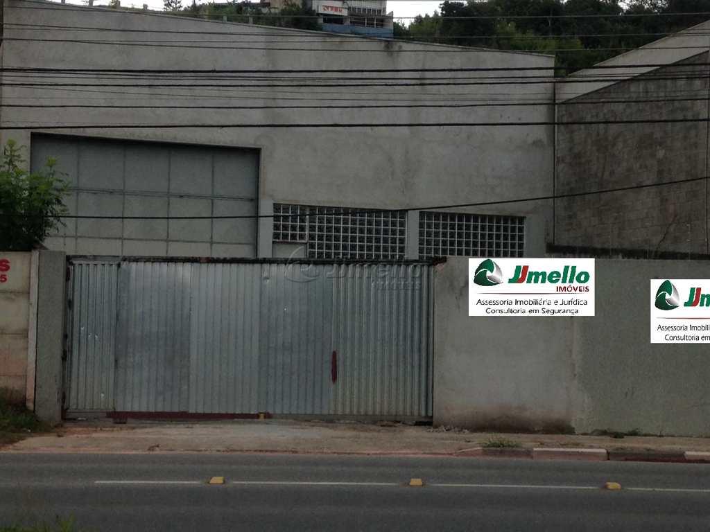 Galpão em Mogi das Cruzes, no bairro Jardim Rodeio