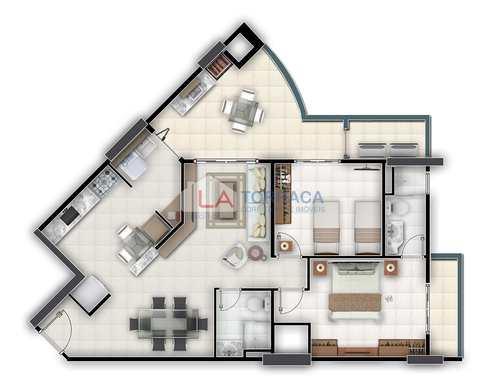Apartamento, código 11723 em Praia Grande, bairro Canto do Forte