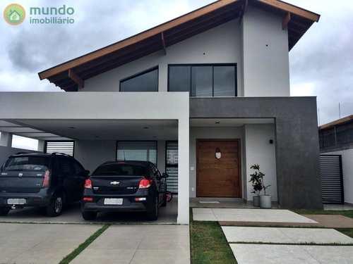 Sobrado de Condomínio, código 6769 em Taubaté, bairro Quiririm