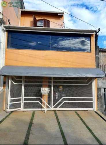 Sobrado, código 6797 em Taubaté, bairro Alto São Pedro