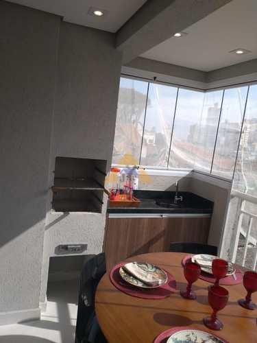 Apartamento, código 9126 em Santo André, bairro Vila São Pedro