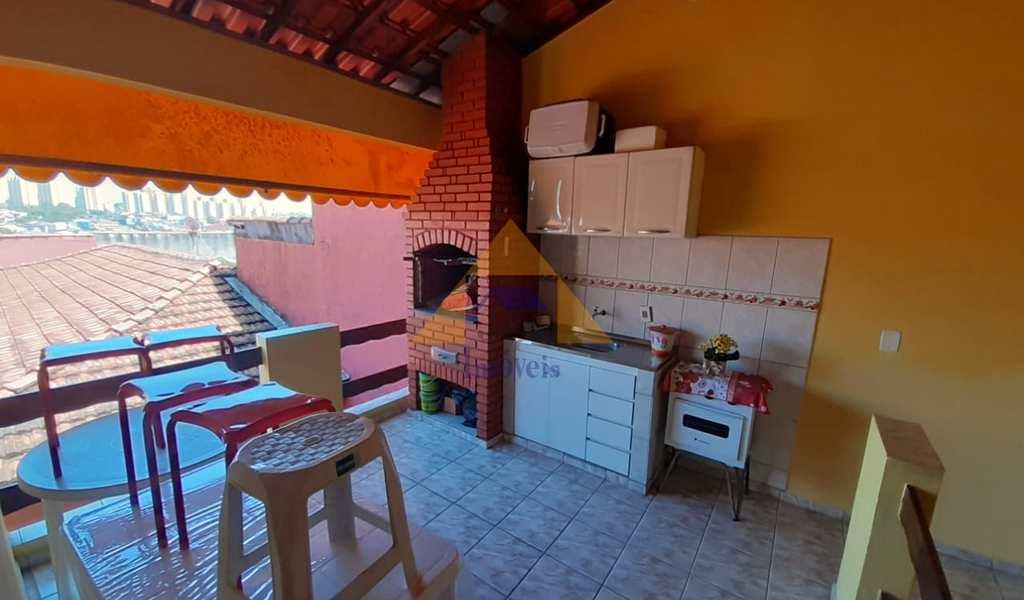 Casa em Santo André, bairro Vila Suíça