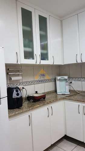 Apartamento, código 10333 em Santo André, bairro Vila Pires