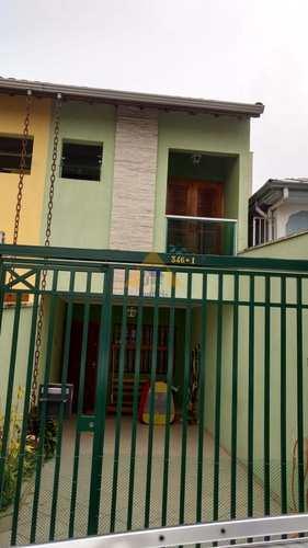 Sobrado, código 10477 em Santo André, bairro Jardim Progresso