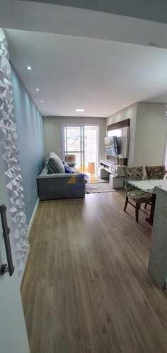 Apartamento, código 10705 em Santo André, bairro Vila Pires