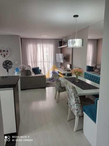 Apartamento, código 11271 em Santo André, bairro Vila América