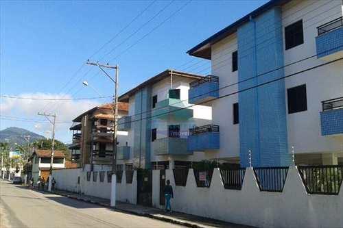 Apartamento, código 595 em Ubatuba, bairro Itagua