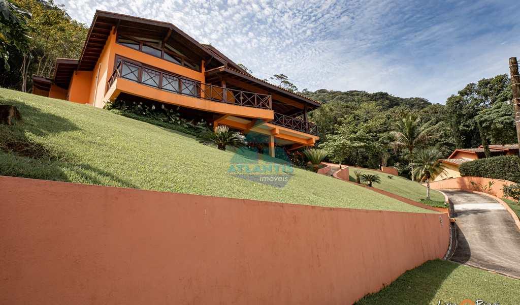 Casa em Ubatuba, bairro Recanto da Lagoinha