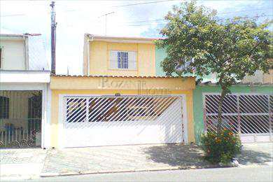 Sobrado em São Bernardo do Campo, bairro Santa Terezinha