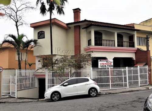 Sobrado, código 1847 em São Bernardo do Campo, bairro Jardim Chácara Inglesa