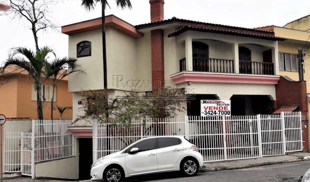 Sobrado em São Bernardo do Campo, bairro Jardim Chácara Inglesa