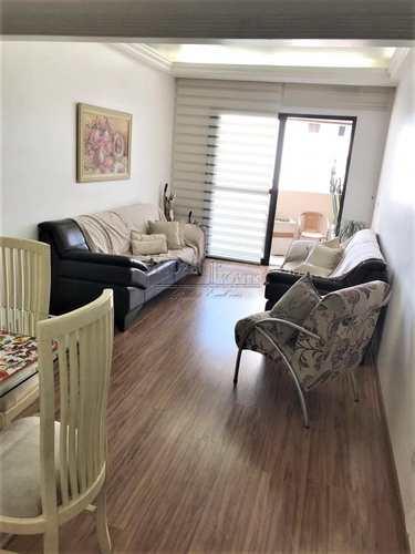 Apartamento, código 3808 em São Bernardo do Campo, bairro Jardim Chácara Inglesa