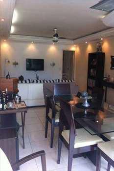 Apartamento, código 396 em São Vicente, bairro Centro