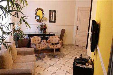 Apartamento, código 392 em São Vicente, bairro Itararé