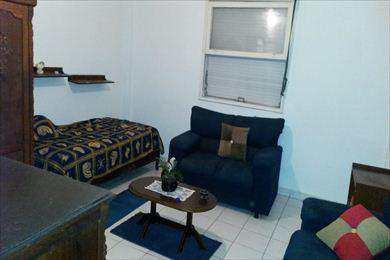 Sala Living, código 383 em São Vicente, bairro Centro