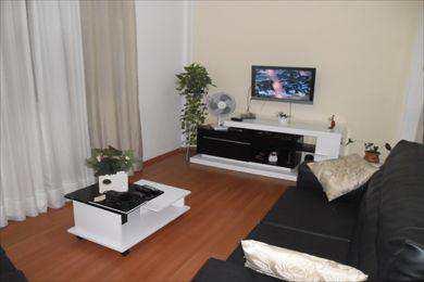 Apartamento, código 366 em São Vicente, bairro Catiapoa
