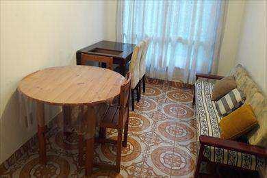 Apartamento, código 502 em São Vicente, bairro Itararé