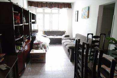 Apartamento, código 338 em São Vicente, bairro Itararé