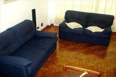 Apartamento, código 200 em Santos, bairro Aparecida