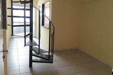 Apartamento, código 497 em São Vicente, bairro Centro