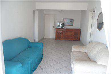 Apartamento, código 106 em São Vicente, bairro Centro