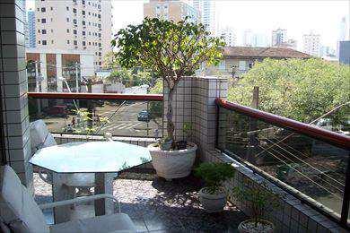 Apartamento, código 147 em Santos, bairro Embaré