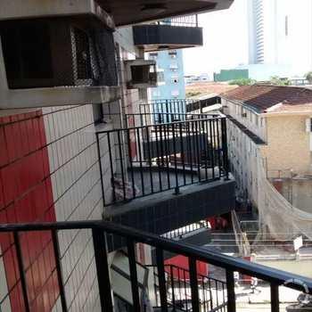 Flat em São Vicente, bairro Centro