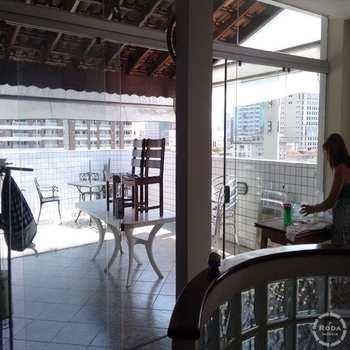 Cobertura em Santos, bairro Encruzilhada