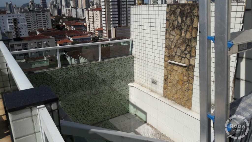 Cobertura em Santos, no bairro Campo Grande