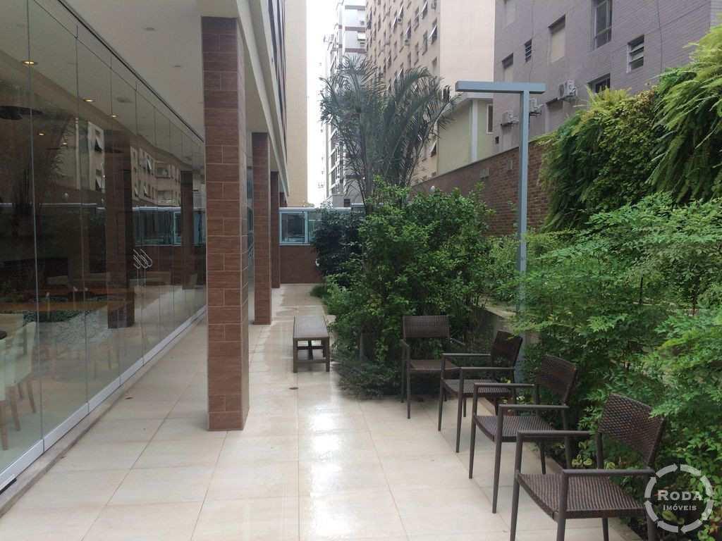 Flat em Santos, no bairro Gonzaga