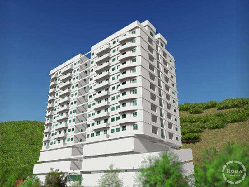 Apartamento em São Vicente, no bairro Vila Voturua