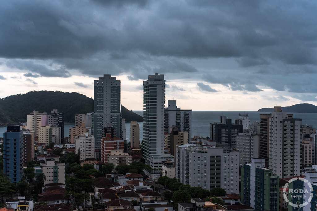 Cobertura em Santos, no bairro Ponta da Praia