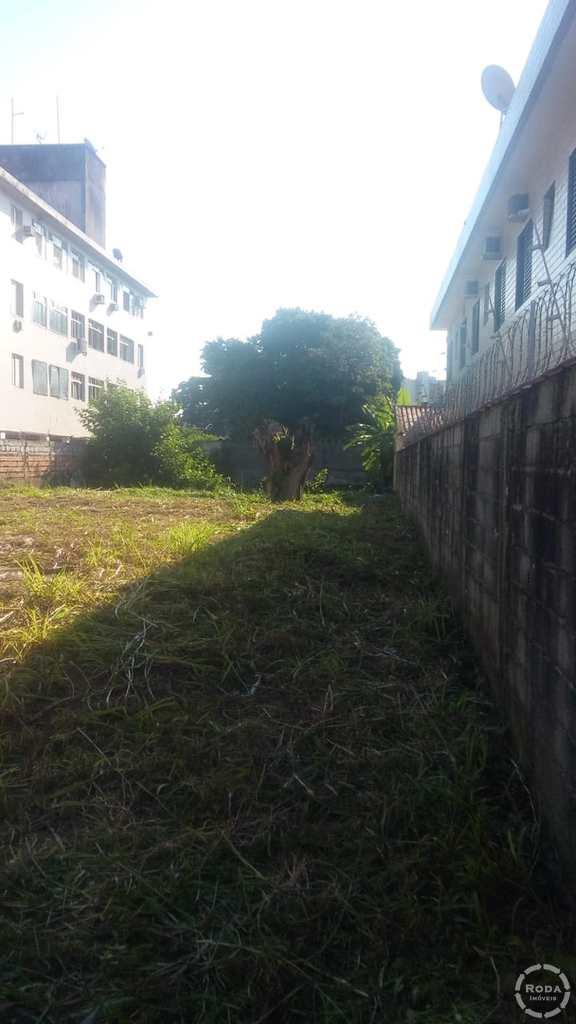 Terreno Comercial em São Vicente, no bairro Centro