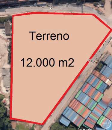 Terreno Comercial em Santos, no bairro Bom Retiro