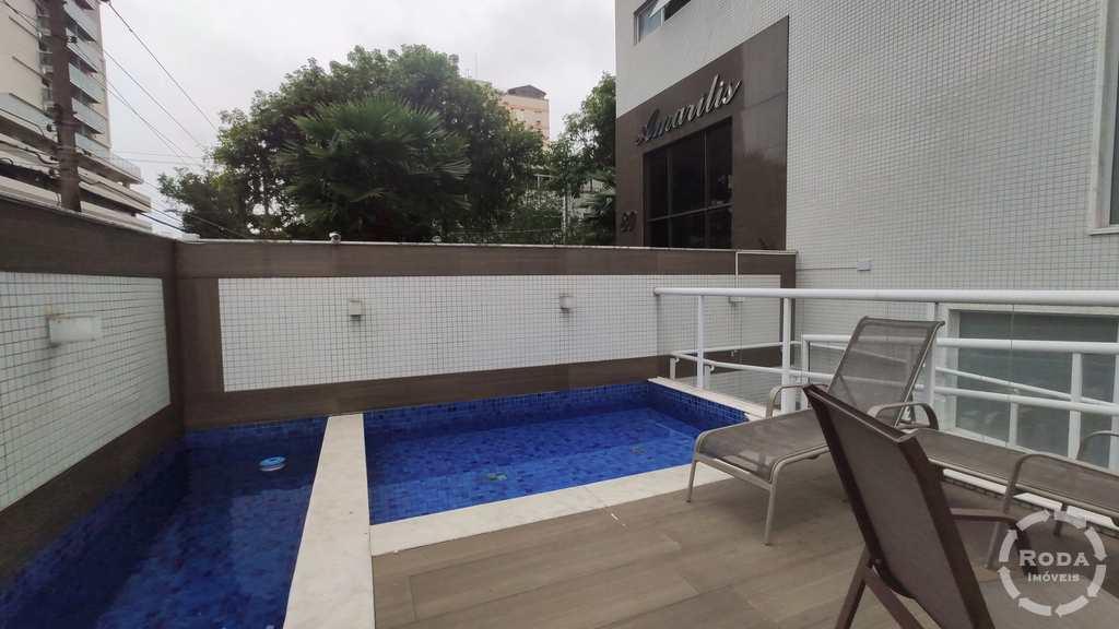 Cobertura em Santos, no bairro Embaré