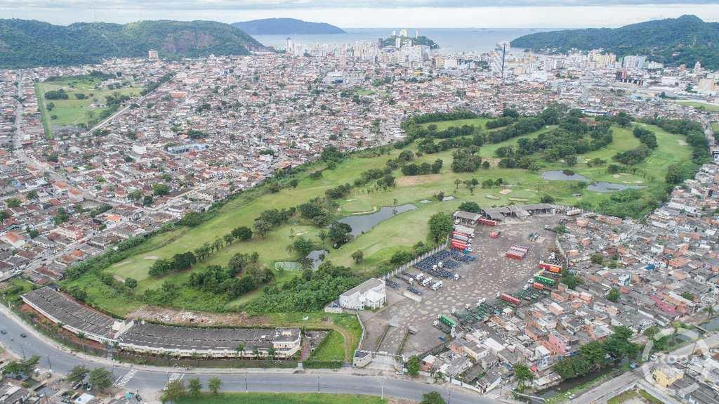 Terreno Comercial em São Vicente, no bairro Catiapoa