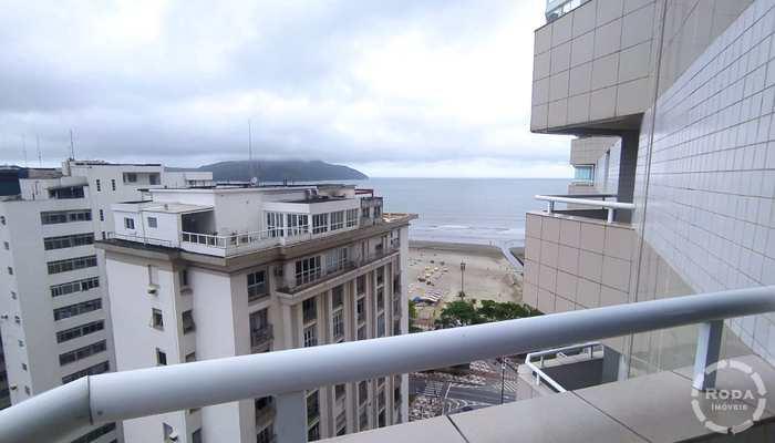 Flat em Santos, bairro Vila Mathias