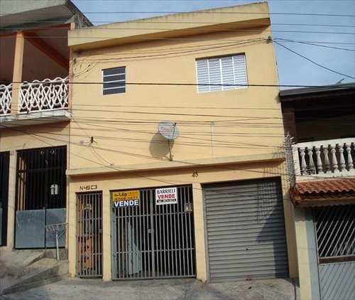 Sobrado, código 156 em Ferraz de Vasconcelos, bairro Jardim Figueiredo