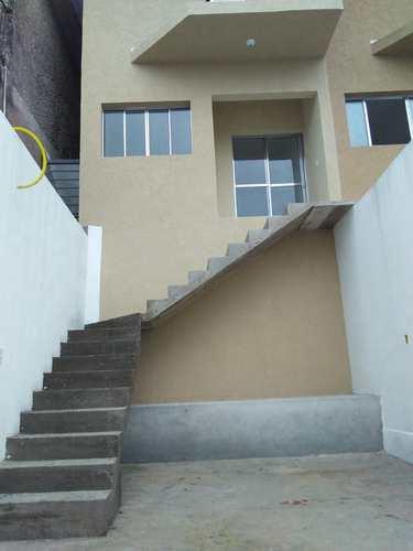Sobrado de Vila, código 190 em Biritiba-Mirim, bairro Jardim Vista Alegre