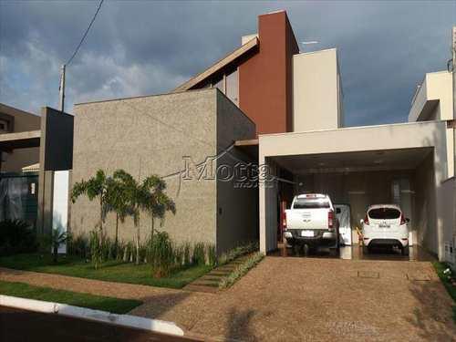 Casa, código 755 em Cravinhos, bairro Condominio Ana Carolina