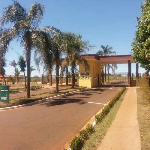 Terreno de Condomínio, código 681 em Cravinhos, bairro Ana Carolina
