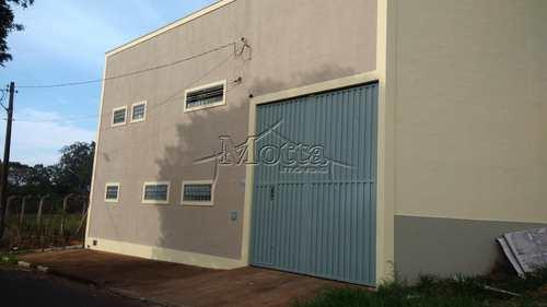 Galpão, código 481 em Cravinhos, bairro Pio XII